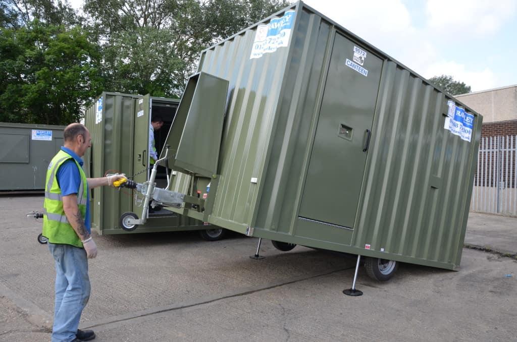Mobile Welfare Unit Hire