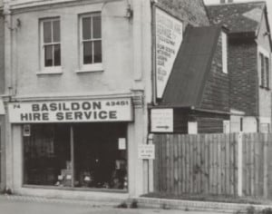 Basildon Hire Co Shop