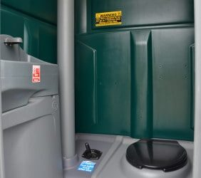 Chemical site toilet hire