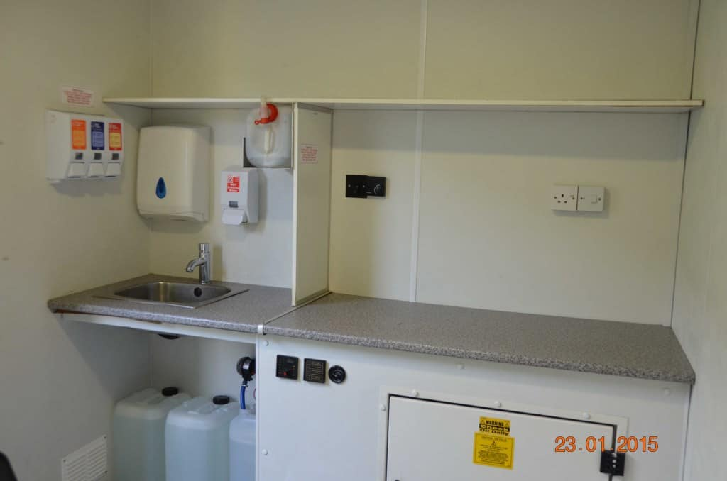 20ft welfare unit