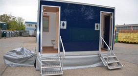 Luxury Mobile Toilet Hire for up to 100 guests