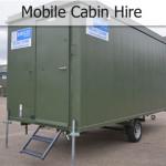 mobile cabin hire