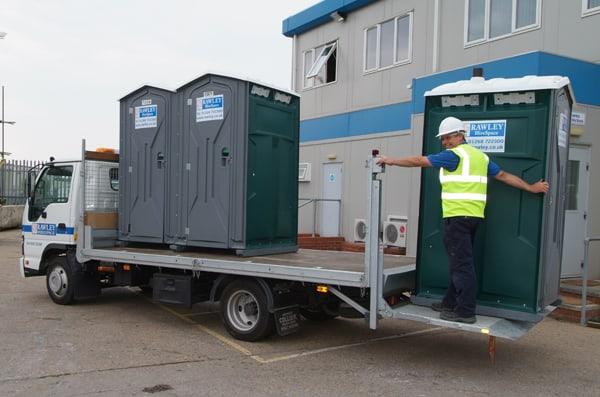 Single Toilet Delivery - Rawley