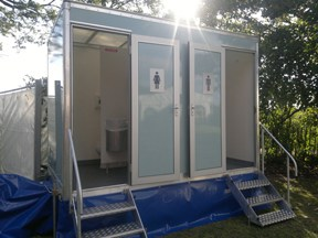 1+1 mobile event toilet hire