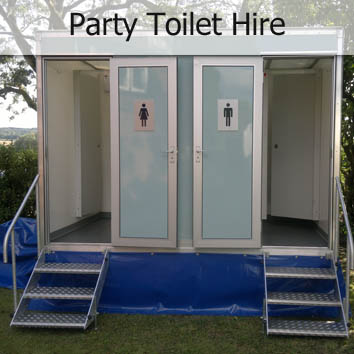party toilet hire